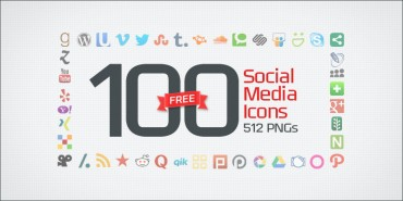100 Free Social Media Icons (PNGs & Vector File)