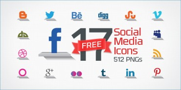 17 Free Social Media Icons (PNGs & Vector File)