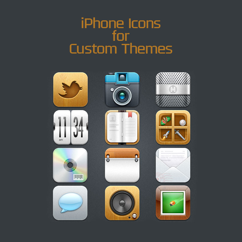 Iphone-icons-for-custom-themes