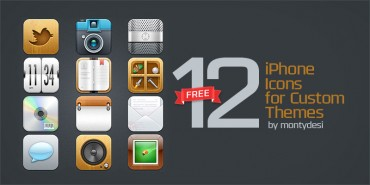 Free iPhone Icons for Custom Themes (PNGs)