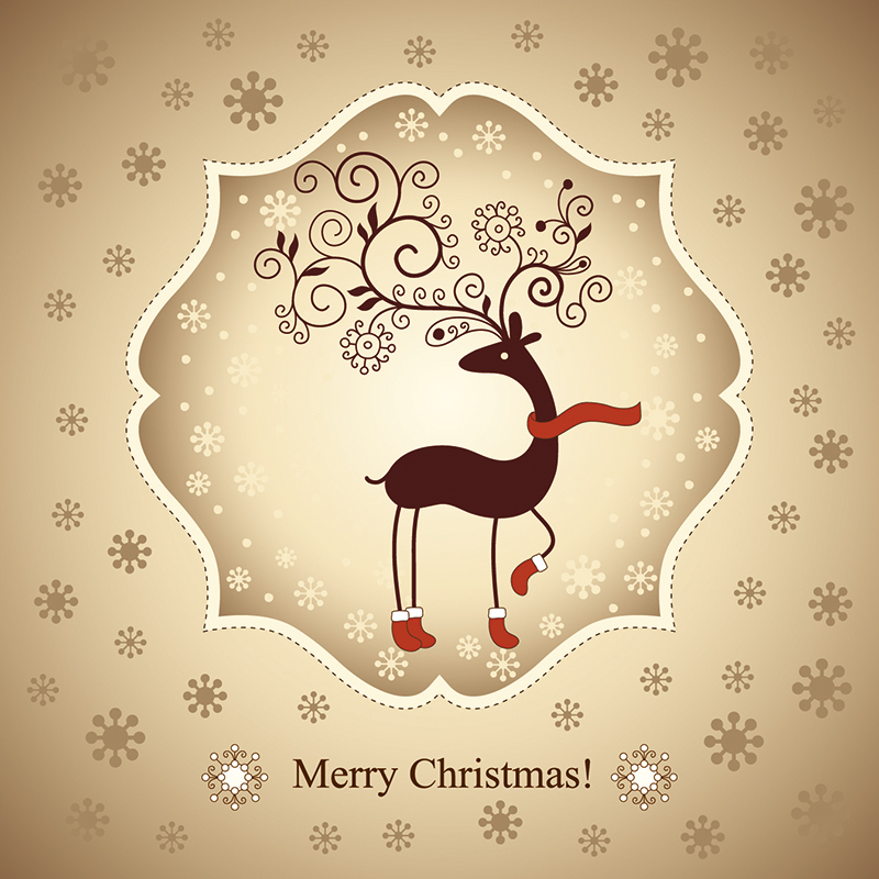Christmas Card Templates Free Download Free Christmas Card ai File