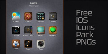 Free iOS Icon Pack (PNGs)