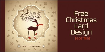 Free Christmas Card (Ai file)