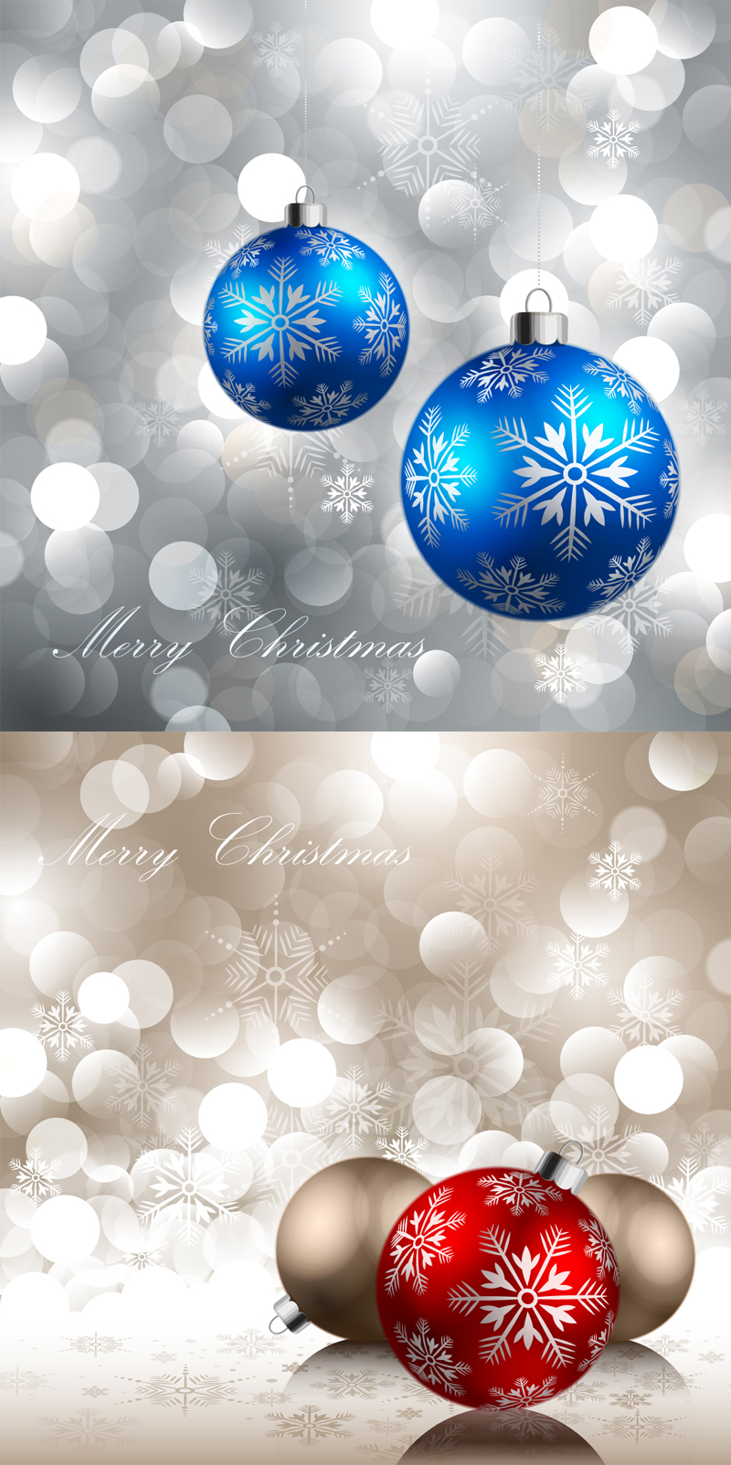 2 free christmas card  ai file