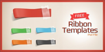 Free Ribbons Templates (Psd)