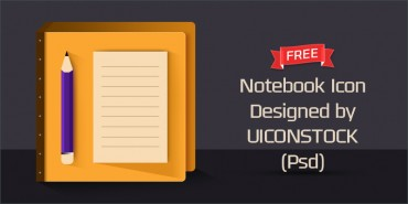 Free Notebook icon (Psd)