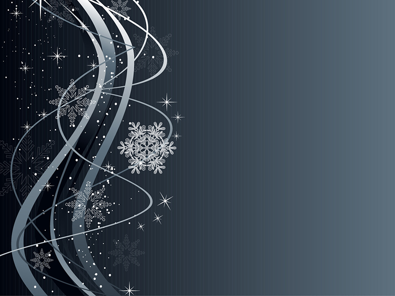 Christmas_Wave_Background_with_Snowflake_Ornaments