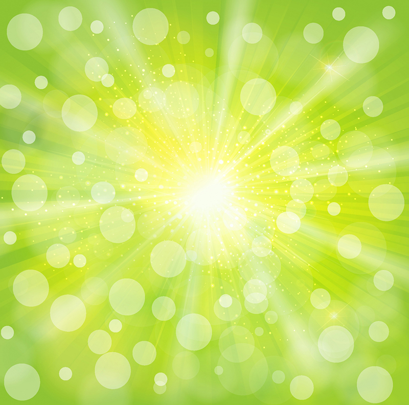 Green_light_abstract_background