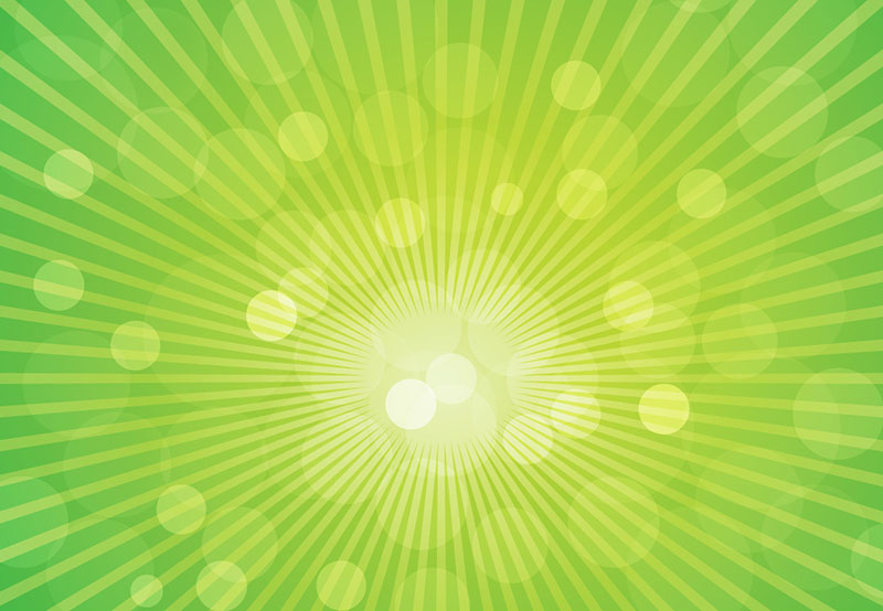 Sun_Rays_on_Green_Background