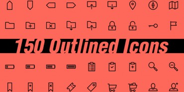 150 Free Outlined Icons