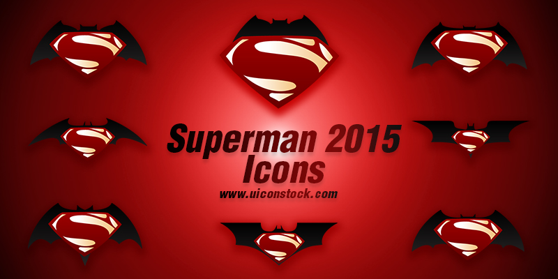 superman 2015 icons