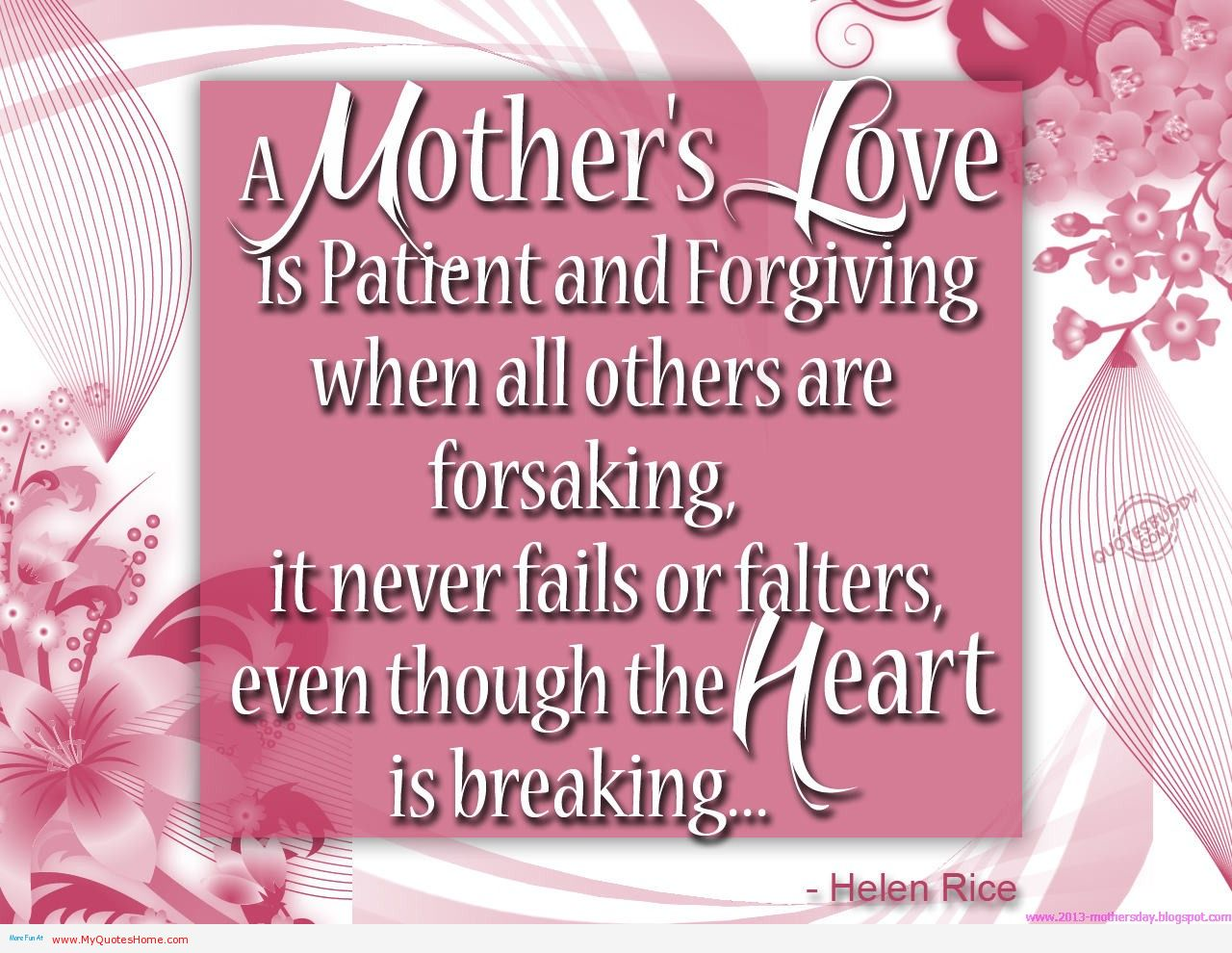 Mothers Love Quotes Best 30 Mothers Day Poems & Quotes