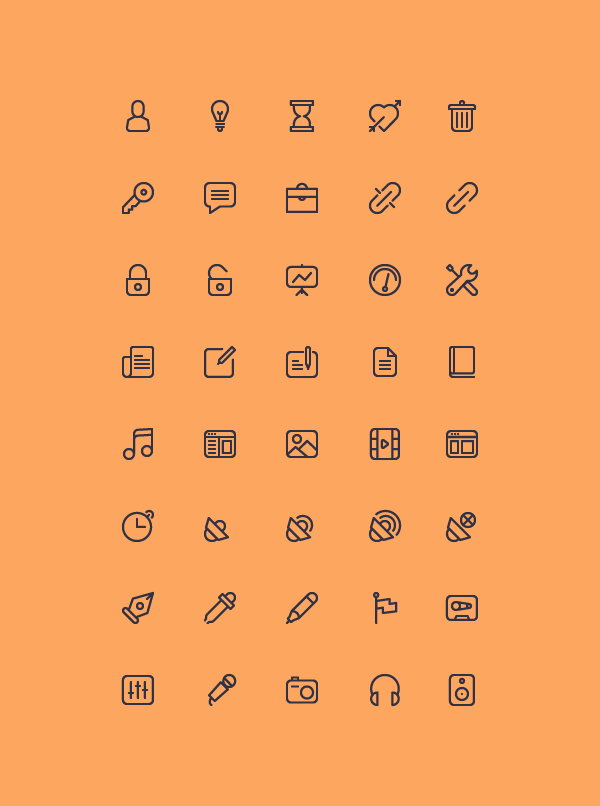 40-Outline-Free-Icons