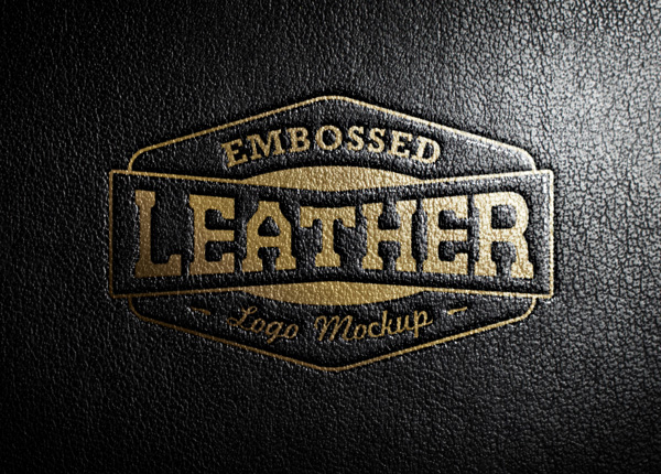 Embossed-Leather-Logo-MockUp