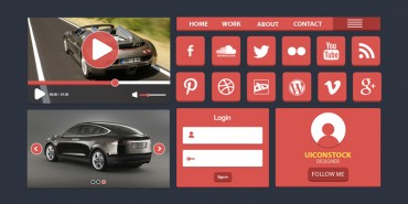 Best Free Flato UI Design 2014