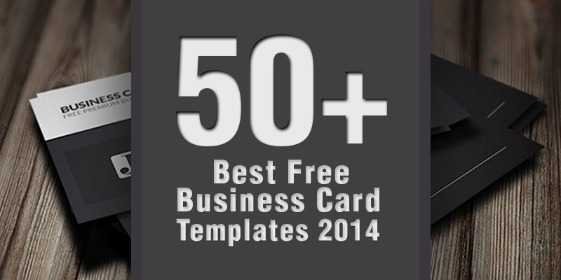 50 best free business card templates 2014 fbccfo Image collections