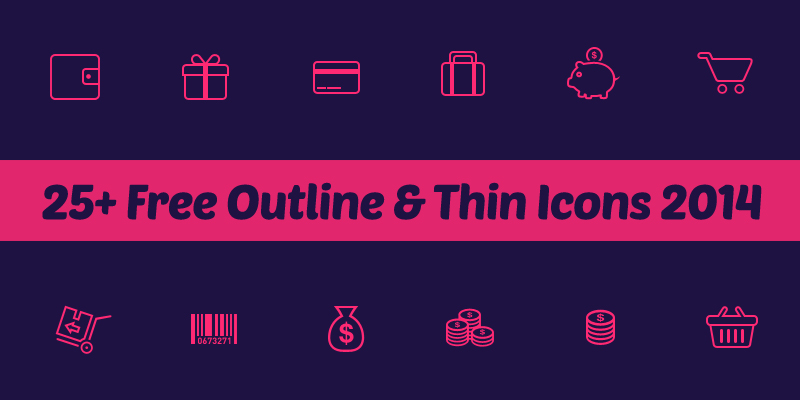outline icons 2014