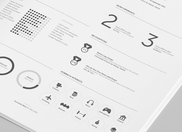free resume template 1 10+ Best Free Professional Resume Templates 2014