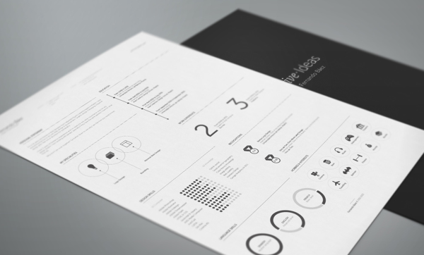 free resume template 2 10+ Best Free Professional Resume Templates 2014