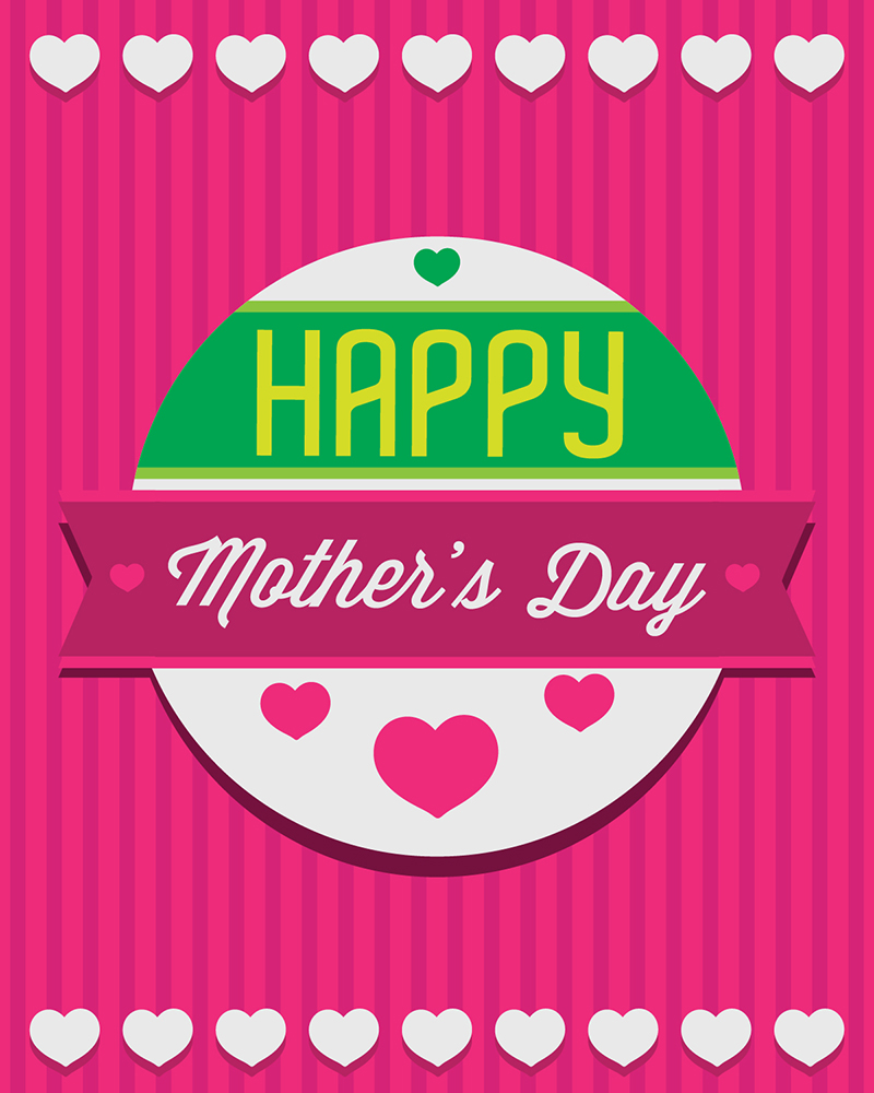20 Free Mother's Day Cards 2014 (Ai)