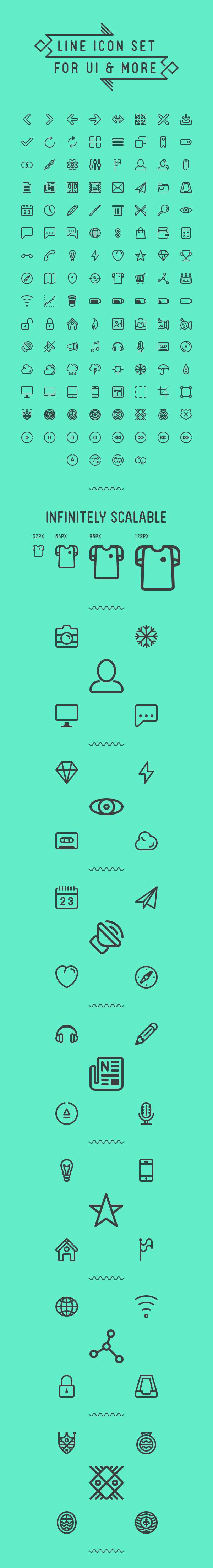 line icons for ui