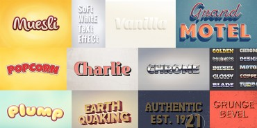 Best 10+ Free Text Effects 2014