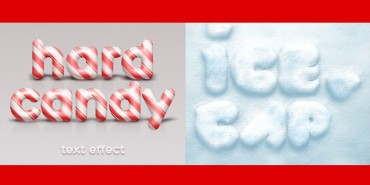Free Candy & Ice Text Effects