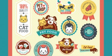Petshop Vector Badges (Free Download) 2014