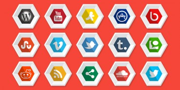 Premium Social Media Icons For Your Premium Blogs & Websites