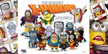 X-Minions Days of Future Past (Minons as X-Men)
