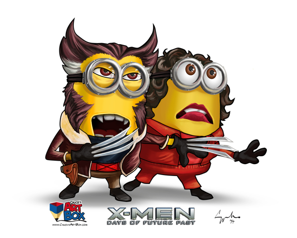 minions, days of future past, x-men