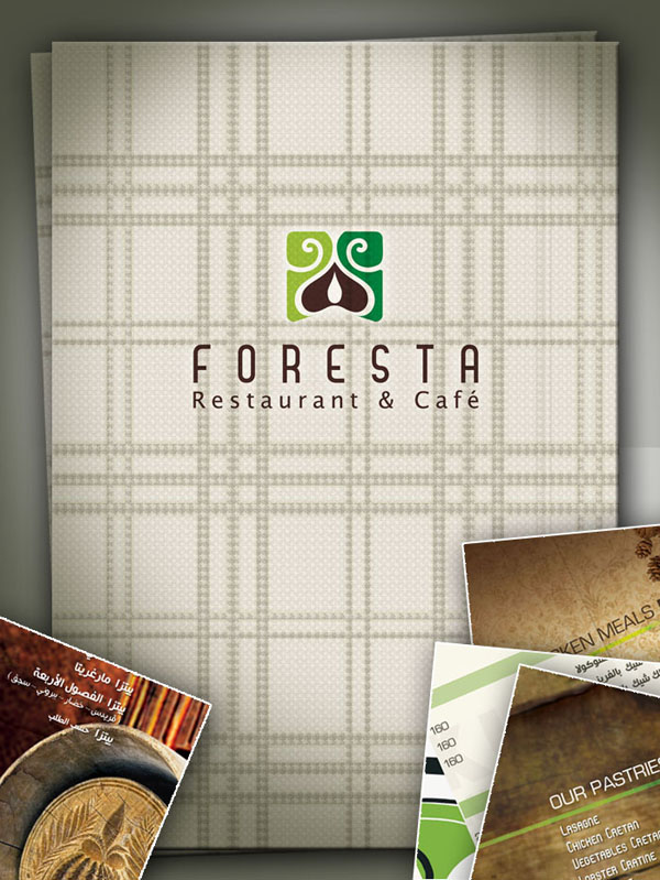 FORESTA_Menu_Design_by_pepoli