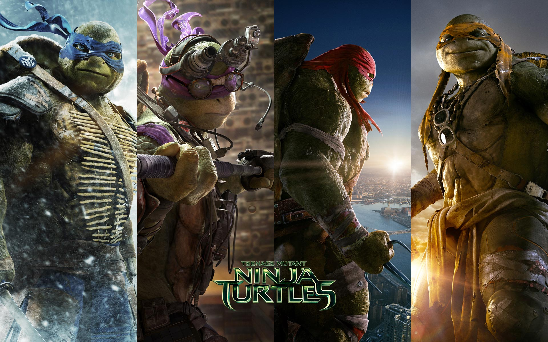 Teenage Mutant Ninja Turtles TMNT 2014 HD Desktop IPhone amp IPad