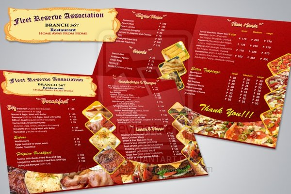 65+ Restaurant Menu Brochure Designs for Designers Inspiration 2014