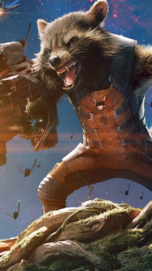 Guardians-Of-The-Galaxy-Rocket-Raccoon-Groot-iphone-Wallpaper