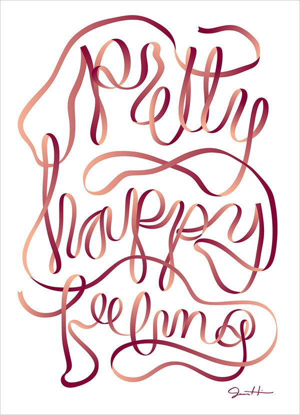 Pretty-Happy-Feeling-Typography