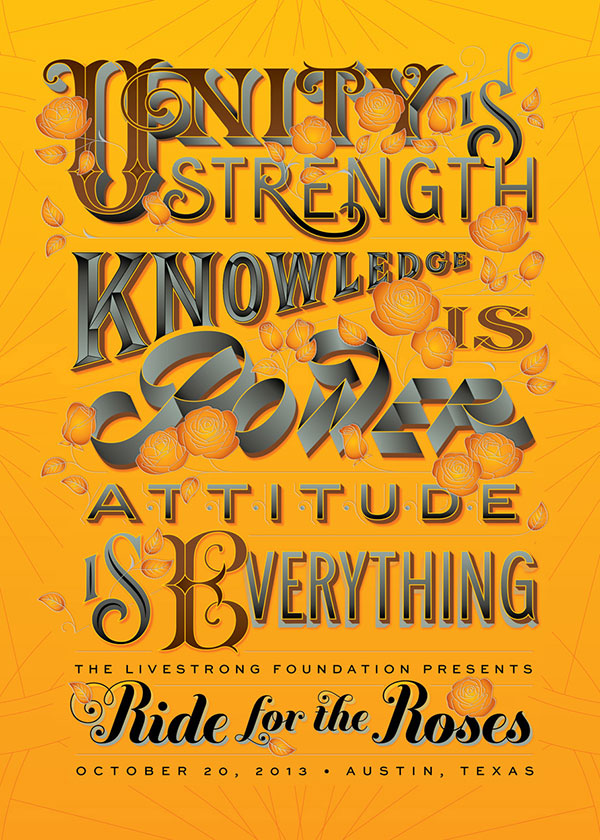 The-Livestrong-Foundation-Typography-Poster