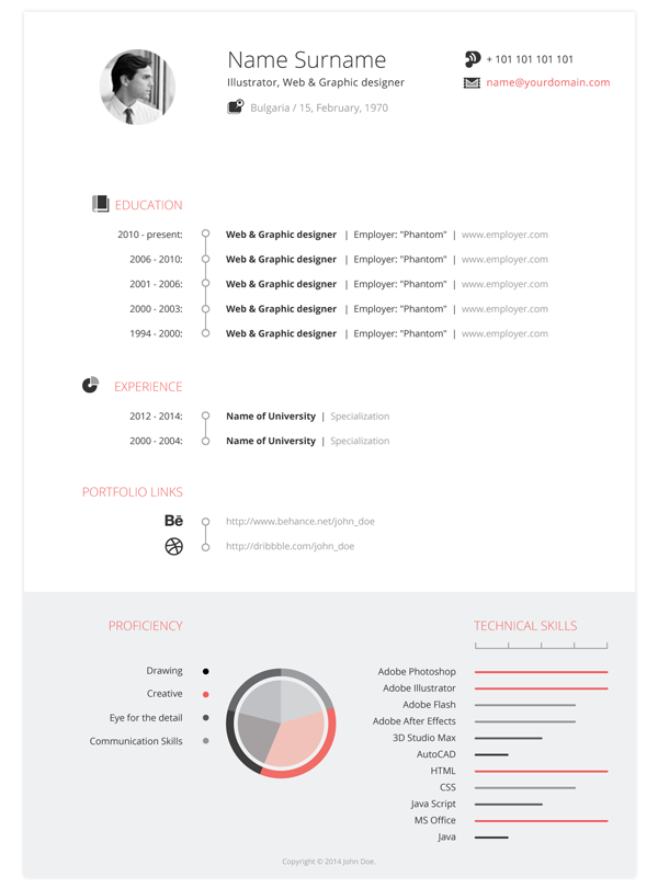 best free professional cv  resume  templates best   professional cv resume template