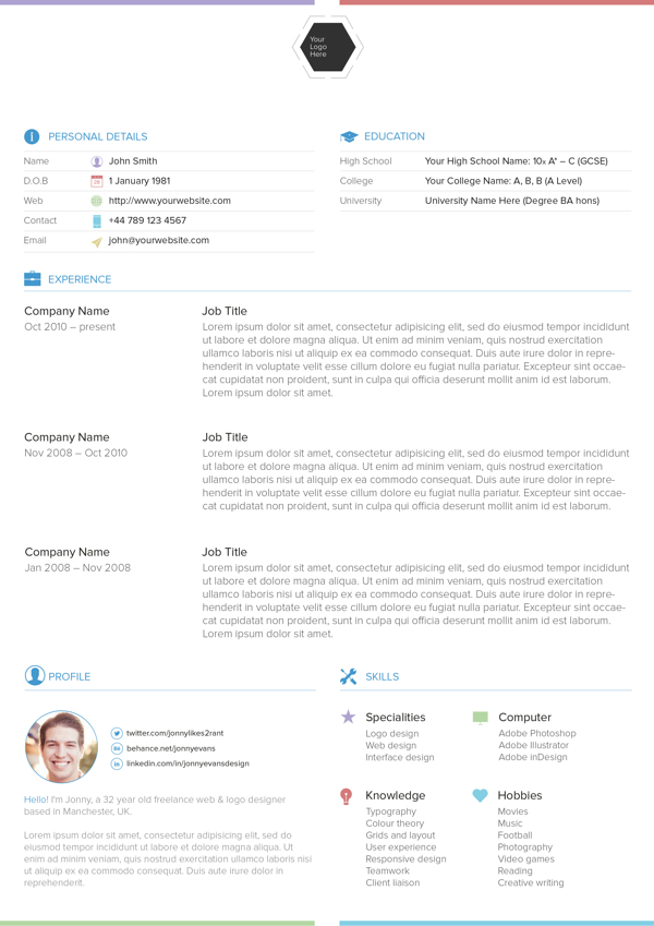 Resume Templates Formal Resume Format Advanced Resume Templates