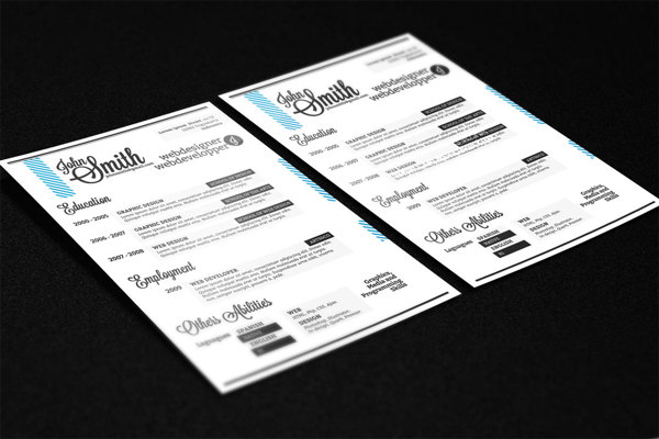 best-free-professional-cv-resume-template-2014(d)