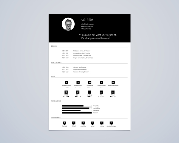 best-free-professional-cv-resume-template-2014(e) (1)