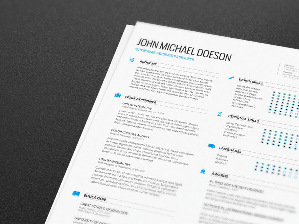 best-free-professional-cv-resume-template-2014(e) (3)