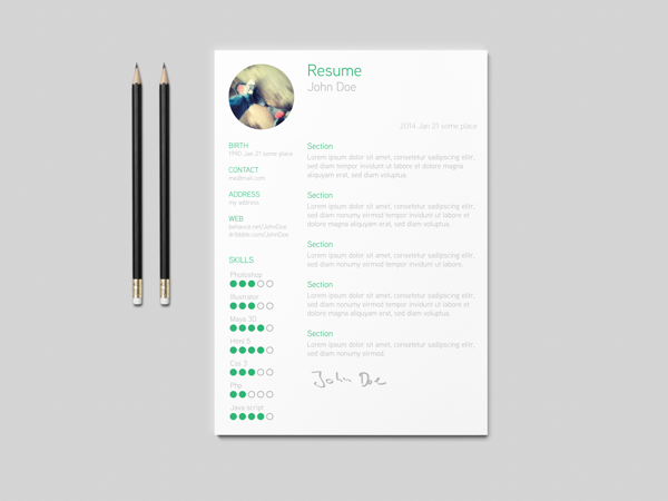 best-free-professional-cv-resume-template-2014(g) (1)