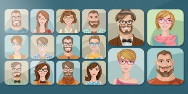 16 Free Cartoon Character Designs For Graphic Designers (Ai)