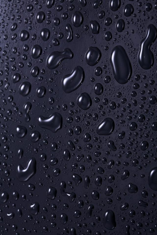 3D IPhone 5 Wallpapers With Water Drop Effects 622d618f99ca3590 640x960