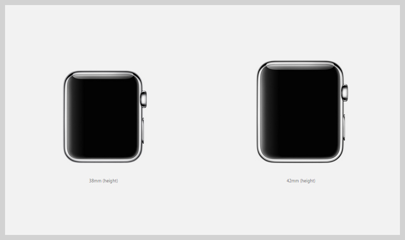 apple-watch-two-different-sizes