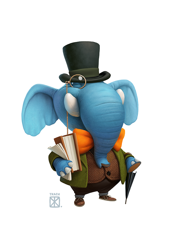 cartoon characters, character design (1)