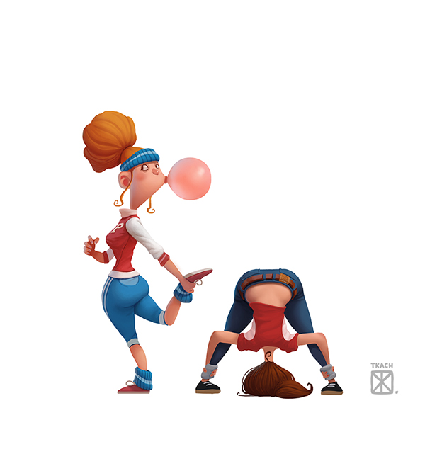 cartoon characters, character design (30)