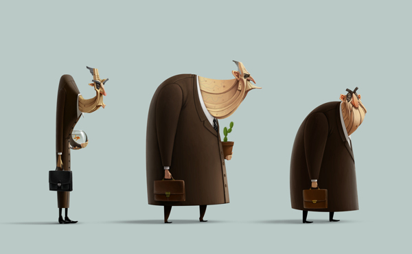 cartoon characters, character design (43)
