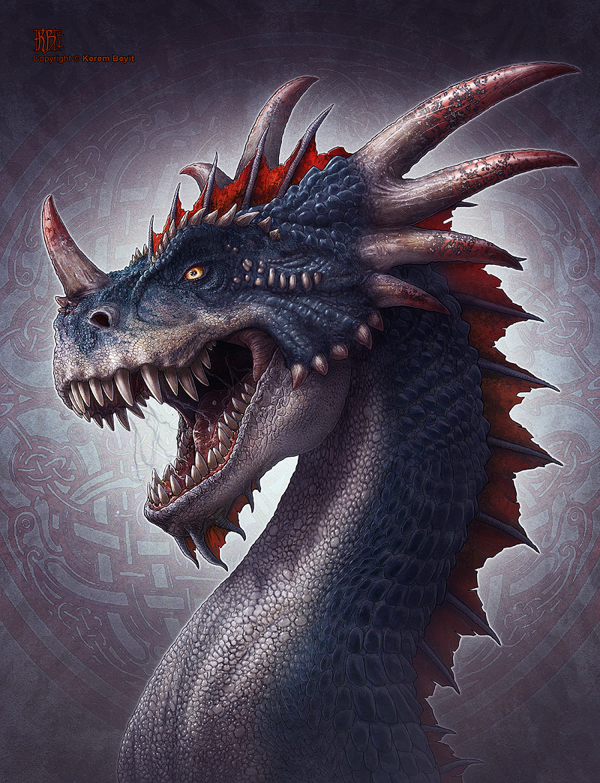 character design-digital art-drawing-illustration-dragon-fan art-1